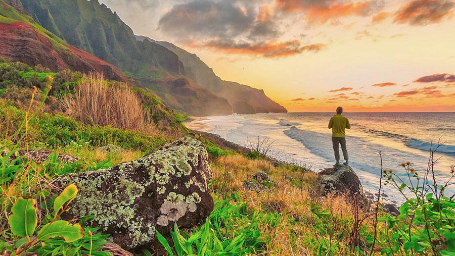 Hawaii landscape photo